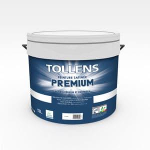 Peinture Tollens premium satinée 12L intérieur/extérieur
