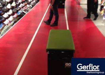 Revêtement de sol Gerflor dans un Go Sport au Qatar