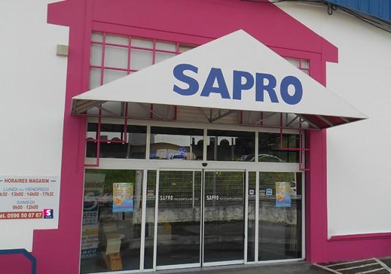 Façade de SAPRO Martinique